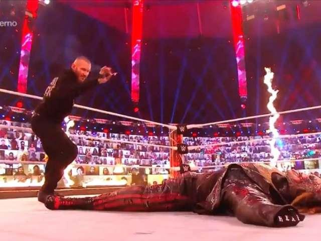 Watch: Randy Orton Sets Bray Wyatt on Fire at WWE TLC