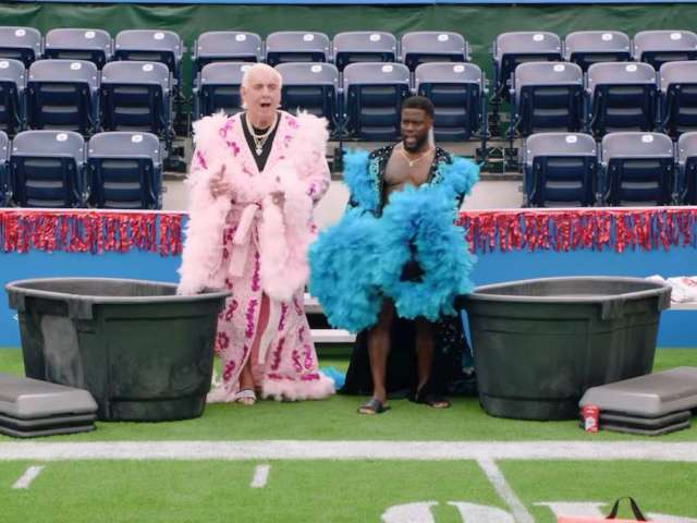 Ric Flair Reveals Favorite Wrestling Moment During Kevin Hart's 'Cold as Balls'