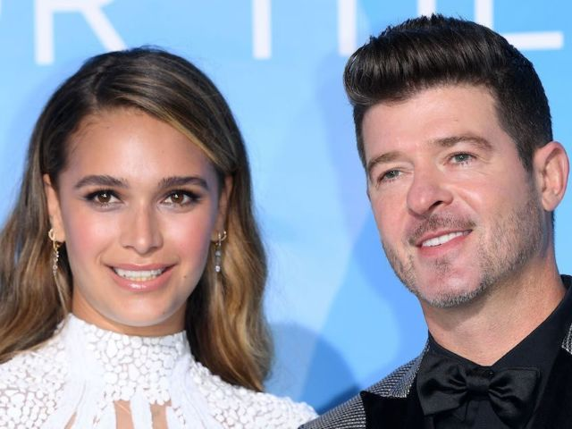 'Masked Singer' Judge Robin Thicke and April Geary Welcome Third Child
