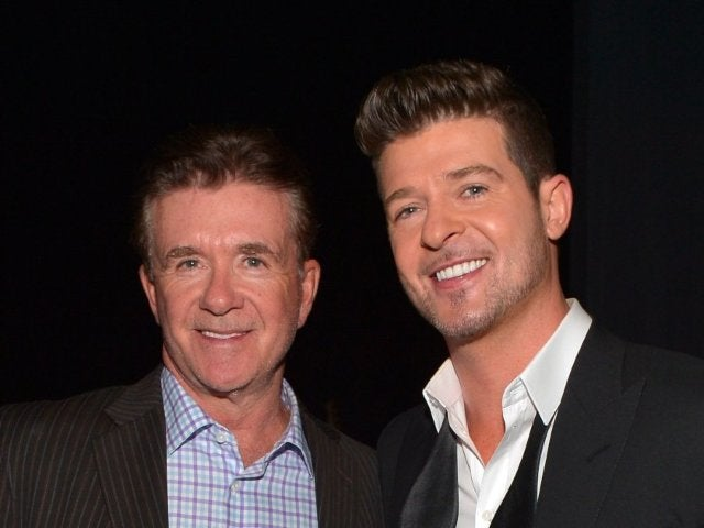 Robin Thicke Honors Late Dad Alan Thicke on Anniversary of His Death 2 Days After Son's Birth