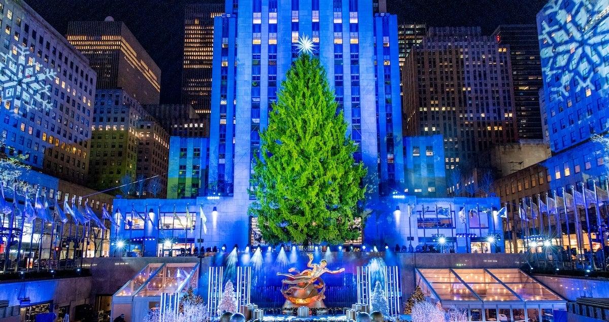 Rockefeller Center Christmas Tree cropped