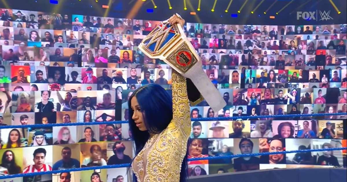 Sasha Banks team with Alexa Bliss