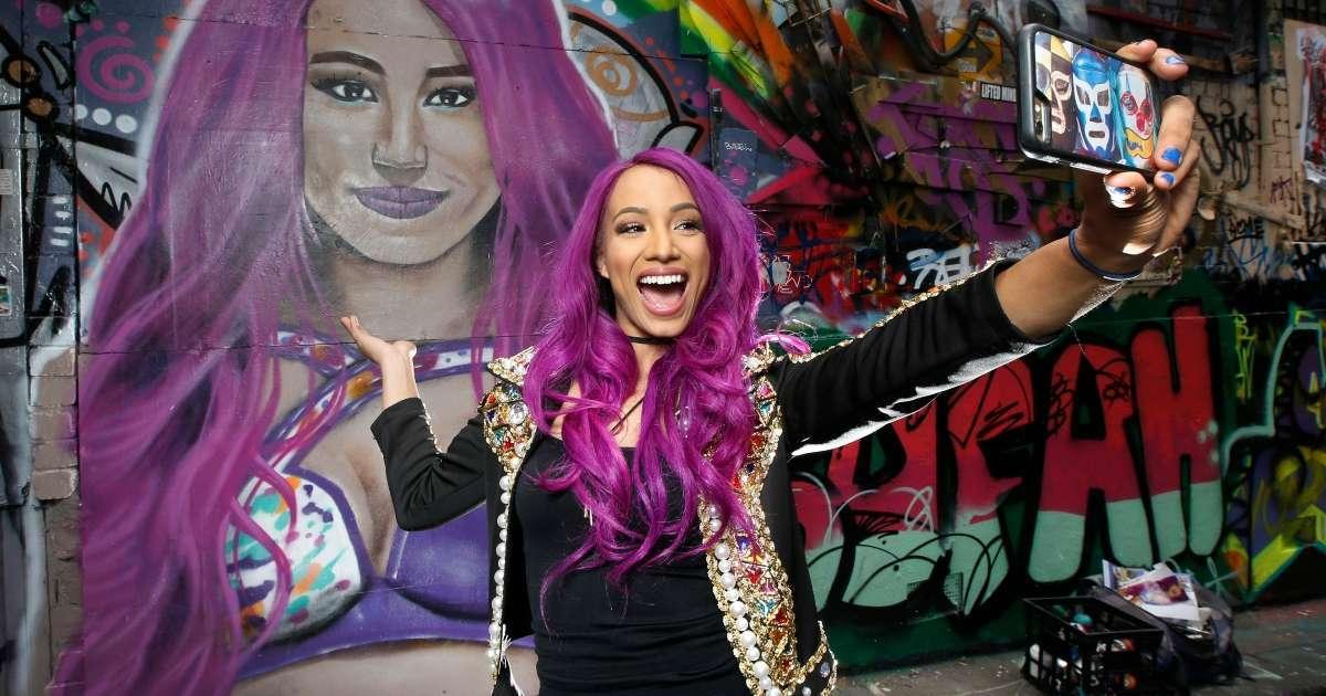Sasha Banks WWE Supersrar best snaps 2020