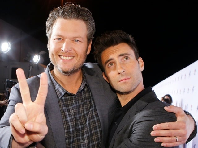 Blake Shelton Wants Adam Levine to Play at His and Gwen Stefani's Wedding: 'He Owes Me a Lot'