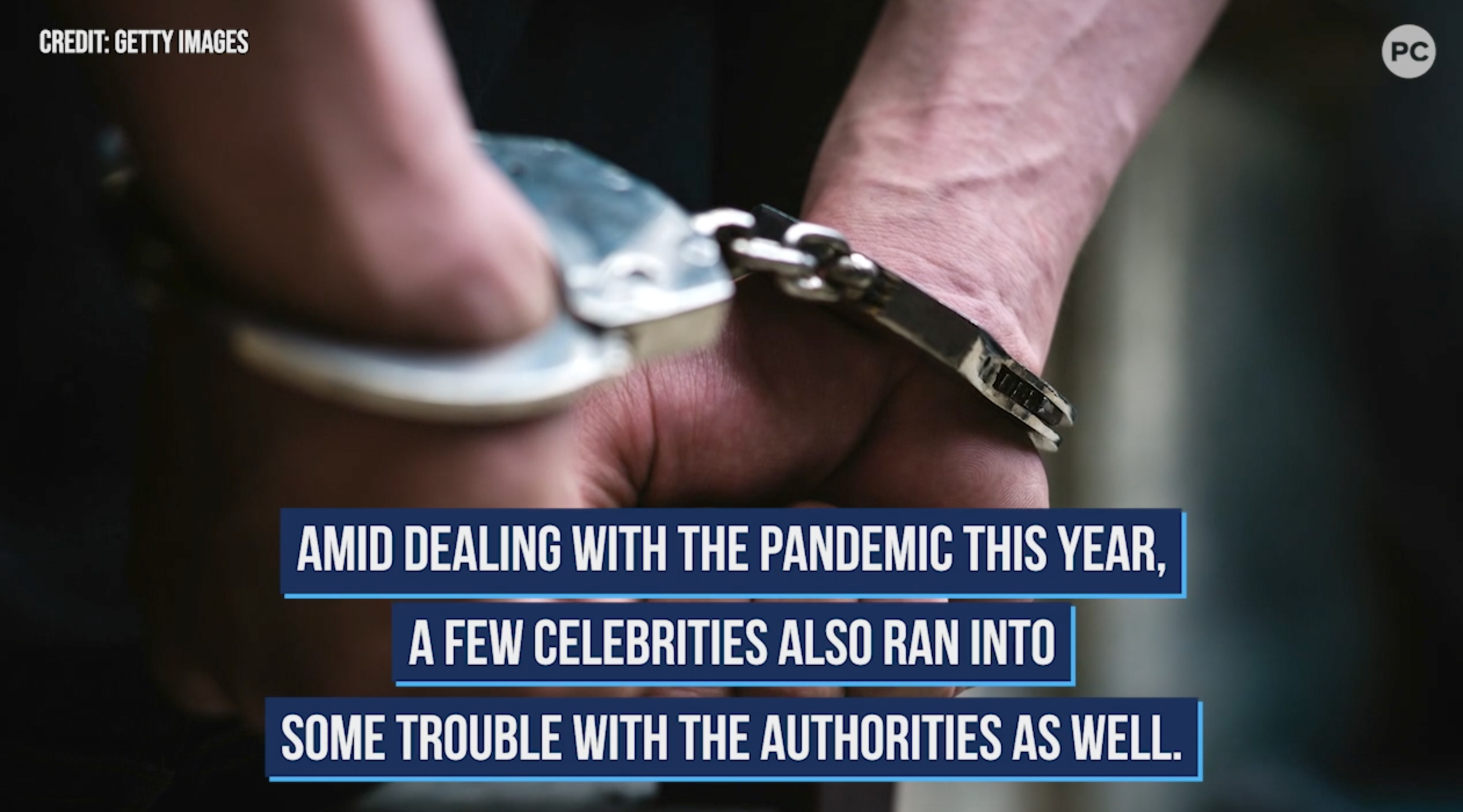 Stars Behind Bars in 2020 - The Latest Celebrity Arrests