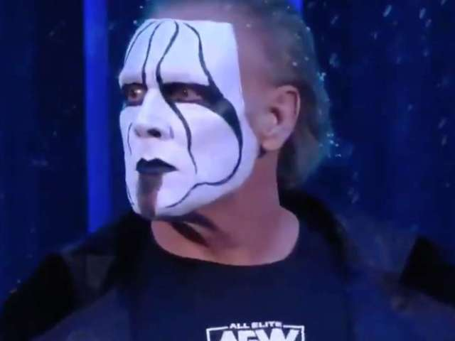 Sting Comes out of Retirement, Makes Surprise AEW Debut on 'Dynamite'