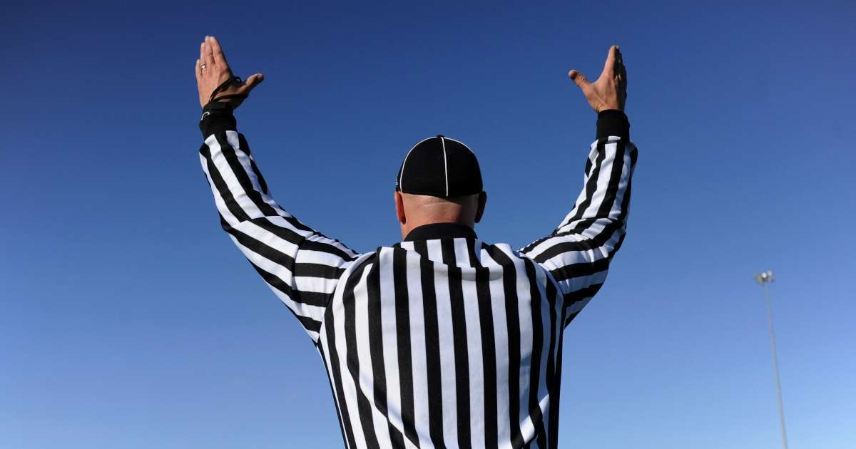 Texas high school football team banned playoffs player body slams referee