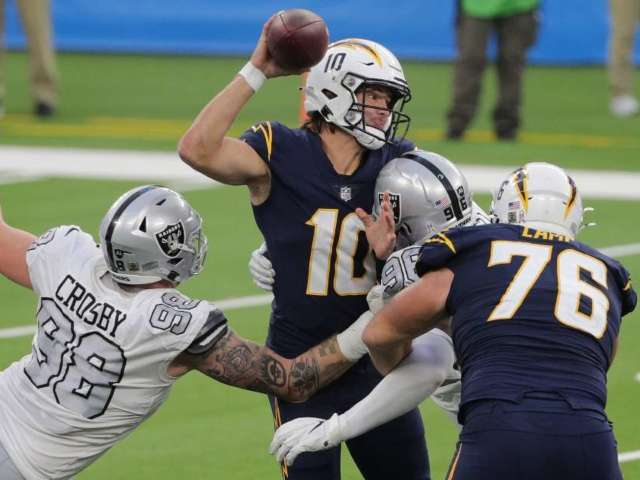 'Thursday Night Football': How to Watch Chargers vs. Raiders