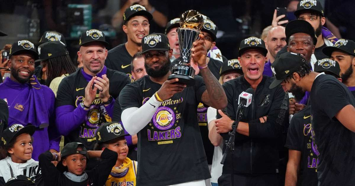 Time Magazine names LeBron James 2020 athlete of the year
