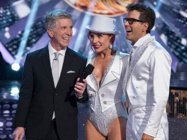 'Dancing With the Stars' Pro Sharna Burgess Reunites With Host Tom Bergeron After His Exit