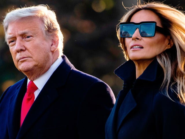 Donald Trump and Melania Trump Post Final Christmas Message Video After Leaving White House for Mar-a-Lago