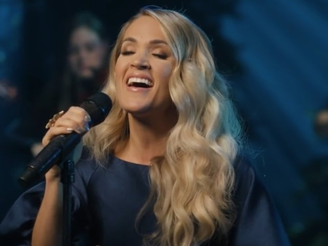 Carrie Underwood Performs 'O Holy Night' on 'The Tonight Show'