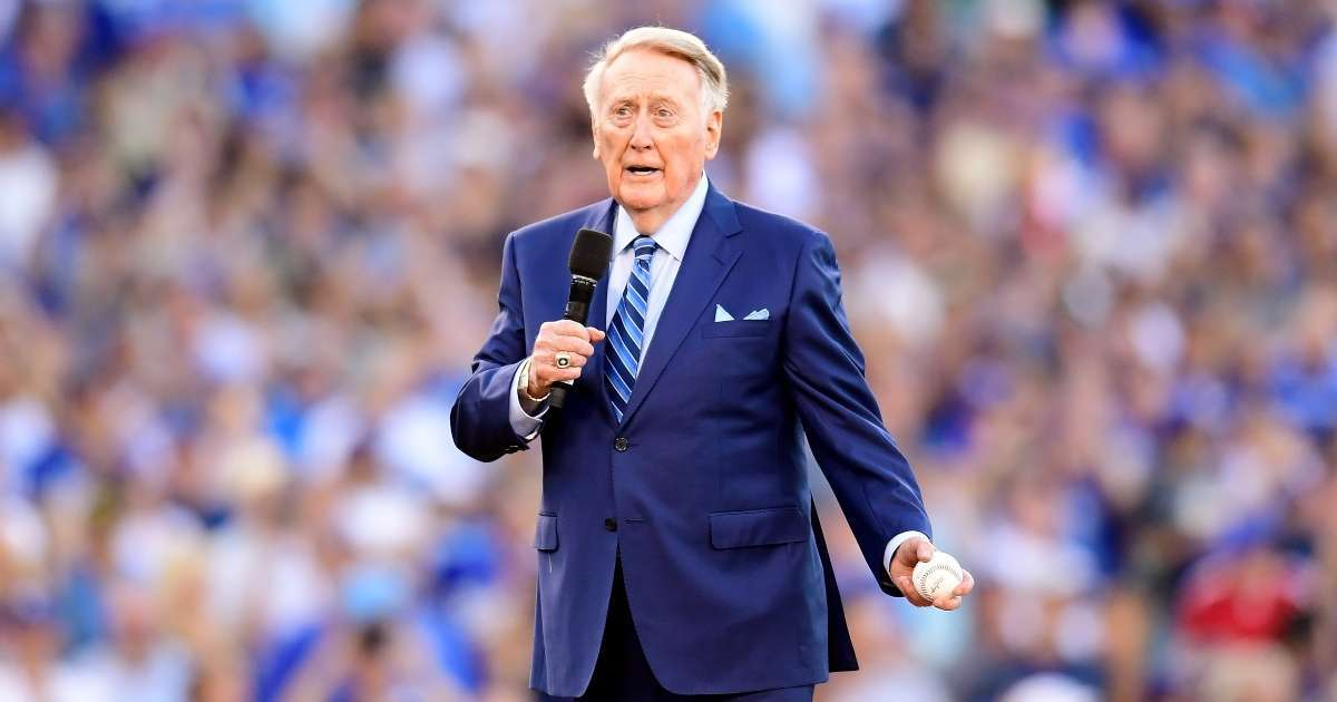 Vin Scully 92 narrate Dodgers documentary World Series win
