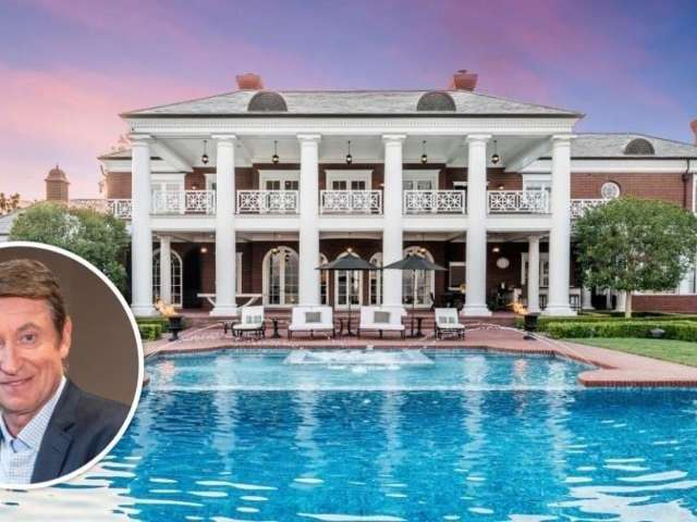 Peek Inside Wayne Gretzky's $22.9M Sprawling California Mansion
