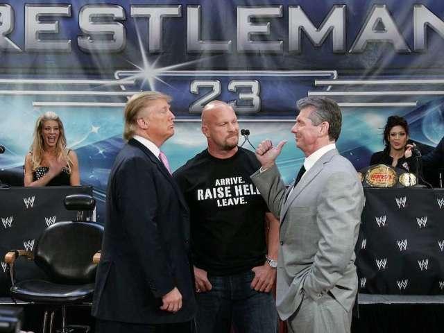 'Diaper Don': Dave Bautista Says Donald Trump Wore Diaper During WrestleMania 23