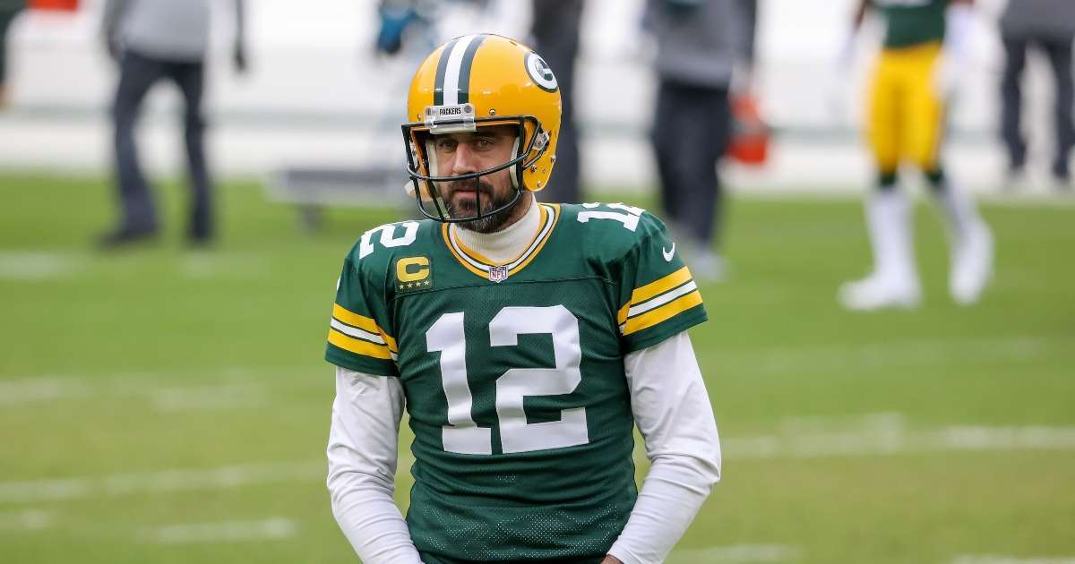 Aaron Rodgers sets record straight uncertain future comment no reason wouldn't be back