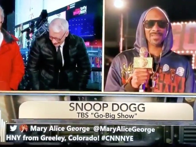 Watch: Anderson Cooper Can't Keep It Together After Snoop Dogg Reveals Everywhere He's Gotten High