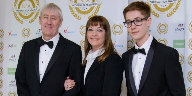 Archie Lyndhurst family