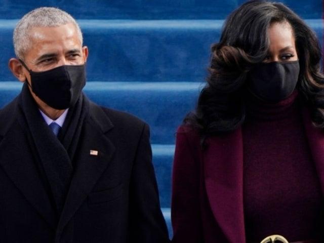 Amanda Gorman Overheard Michelle Obama Telling Husband Barack to 'Stop Hugging People' at Inauguration