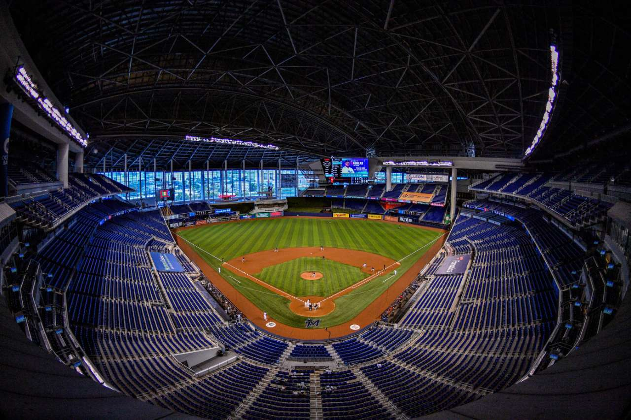 Baseball 2021 Season Marlins Park