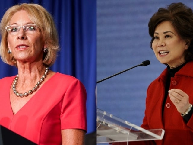 Betsy DeVos, Elaine Chao Resign From Trump Cabinet Due to Capitol Riot