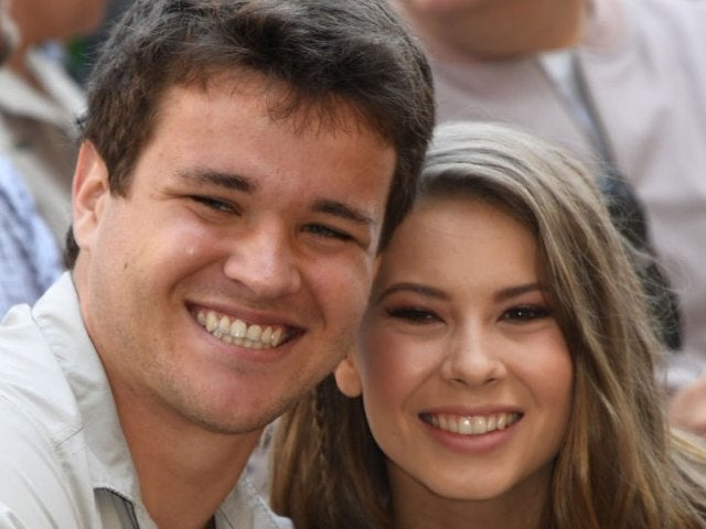 Bindi Irwin and Chandler Powell Cradle Her Growing Baby Bump in New Photo