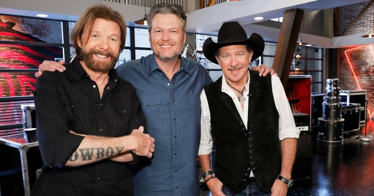 blake shelton brooks and dunn getty images nbc