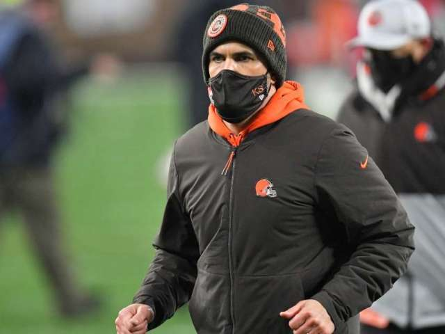 Browns Coach Kevin Stefanski Tests Positive for COVID-19, Will Miss Playoff Game Against Steelers