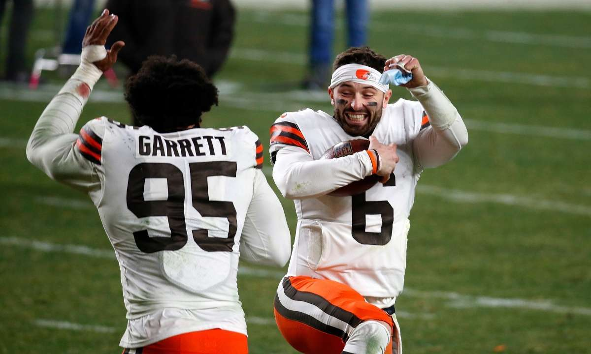 Browns win first playoff game 25 years nfl fans stunned
