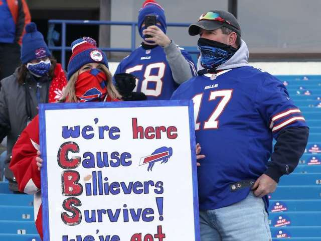 Buffalo Bills: Dick's Sporting Goods Stocks Folding Tables Ahead of AFC Championship