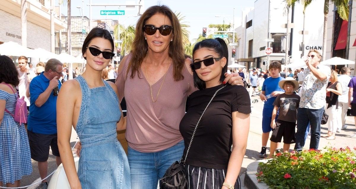 Caitlyn Jenner Kylie Jenner Kendall Jenner