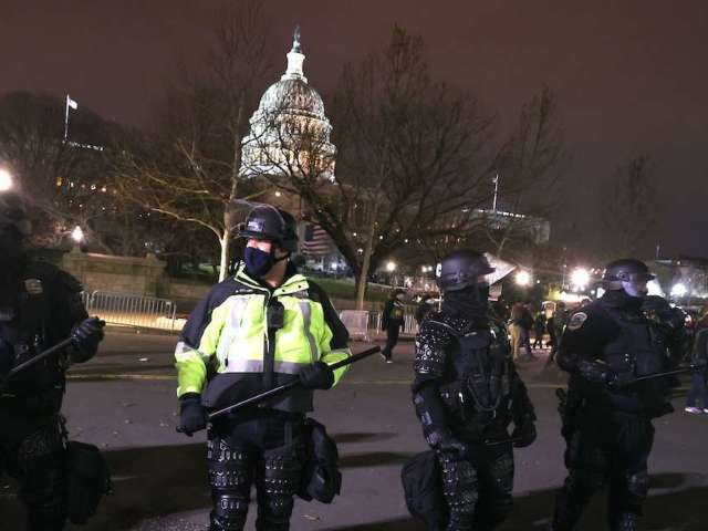 'Several' Capitol Police Officers Suspended Due to Their Behavior During Riots