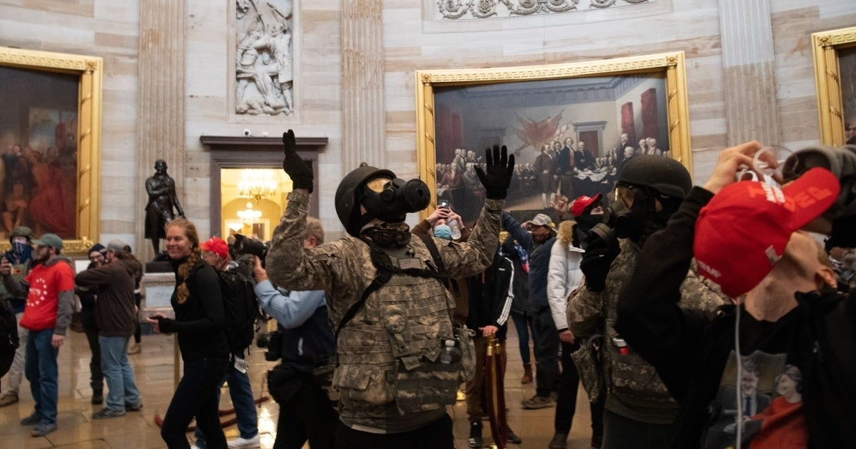 capitol rioters getty images