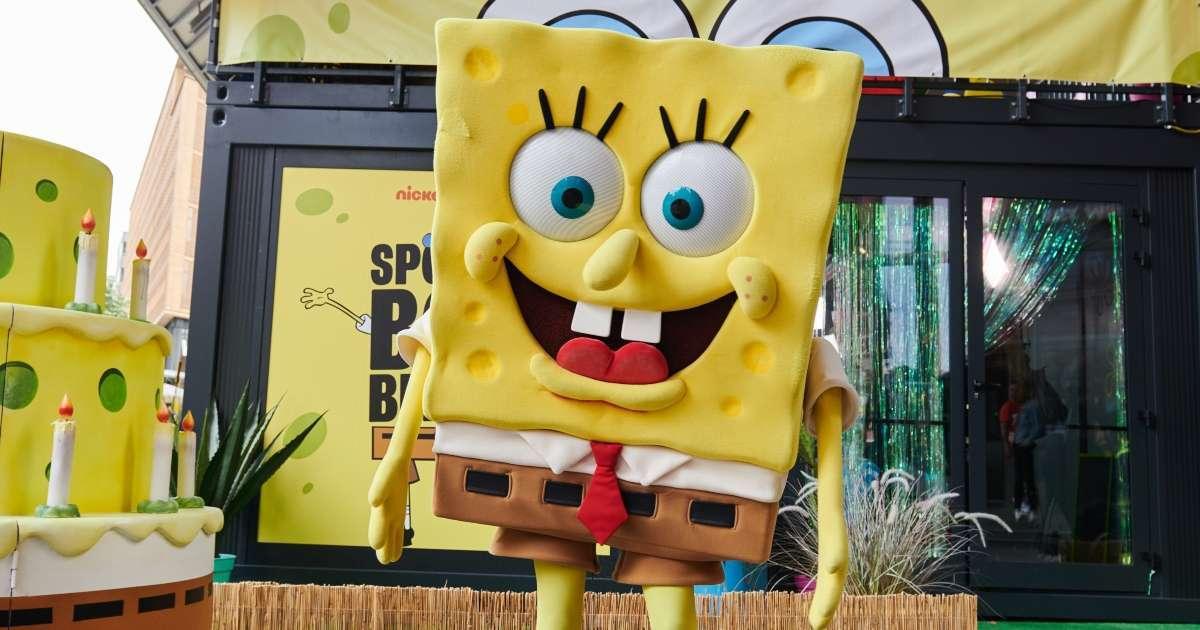 Chicago Radio Station interviews Spongebob Squarepants Bears Saints Nickelodeon Wild card game