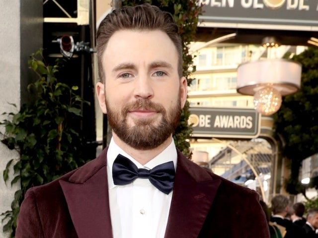 Chris Evans Shares Adorable Stair Snap of Dog Dodger
