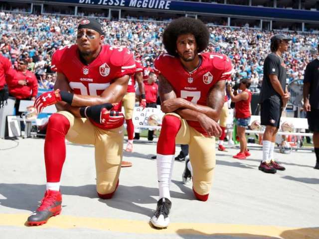 Colin Kaepernick Supporter Points out Double Standard Compared to Capitol Rioters