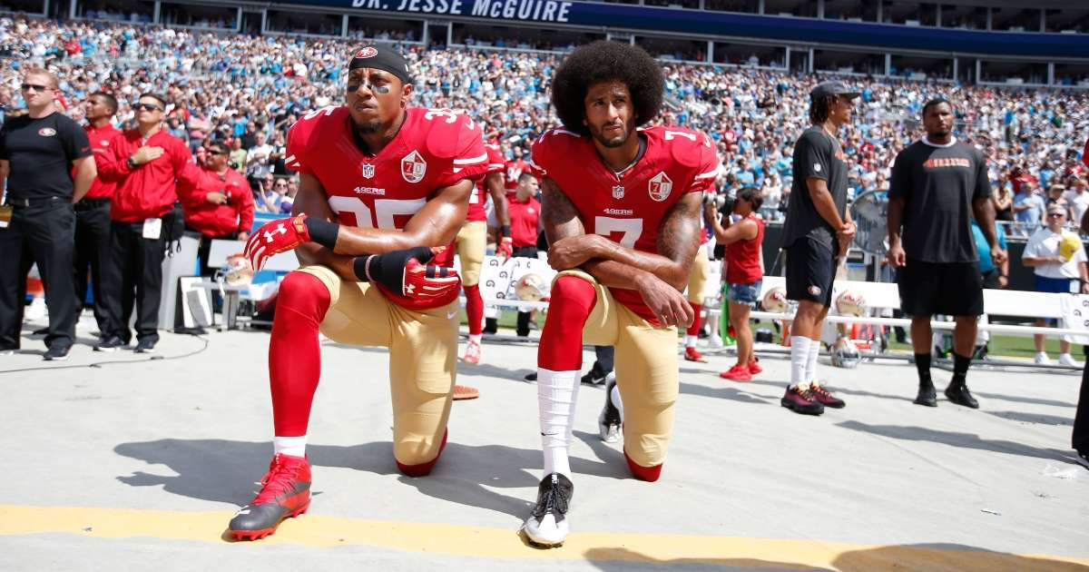 Colin Kaepernick supporter points outs double standard compared capitol rioters