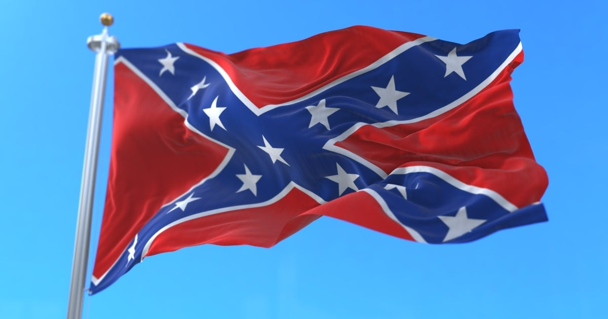 confederate flag getty images