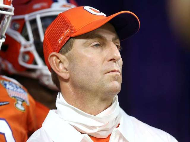 Twitter Roasts Dabo Swinney After Clemson Loses to 'No. 11' Ohio State