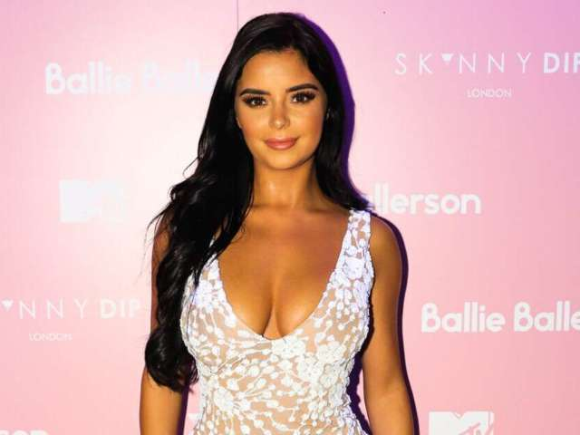 Demi Rose Gets 'Cheeky' in New Summery Photo