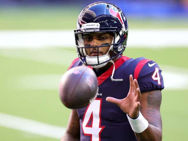 Texans' Deshaun Watson Reportedly Available Via Trade, and Fans Go Off
