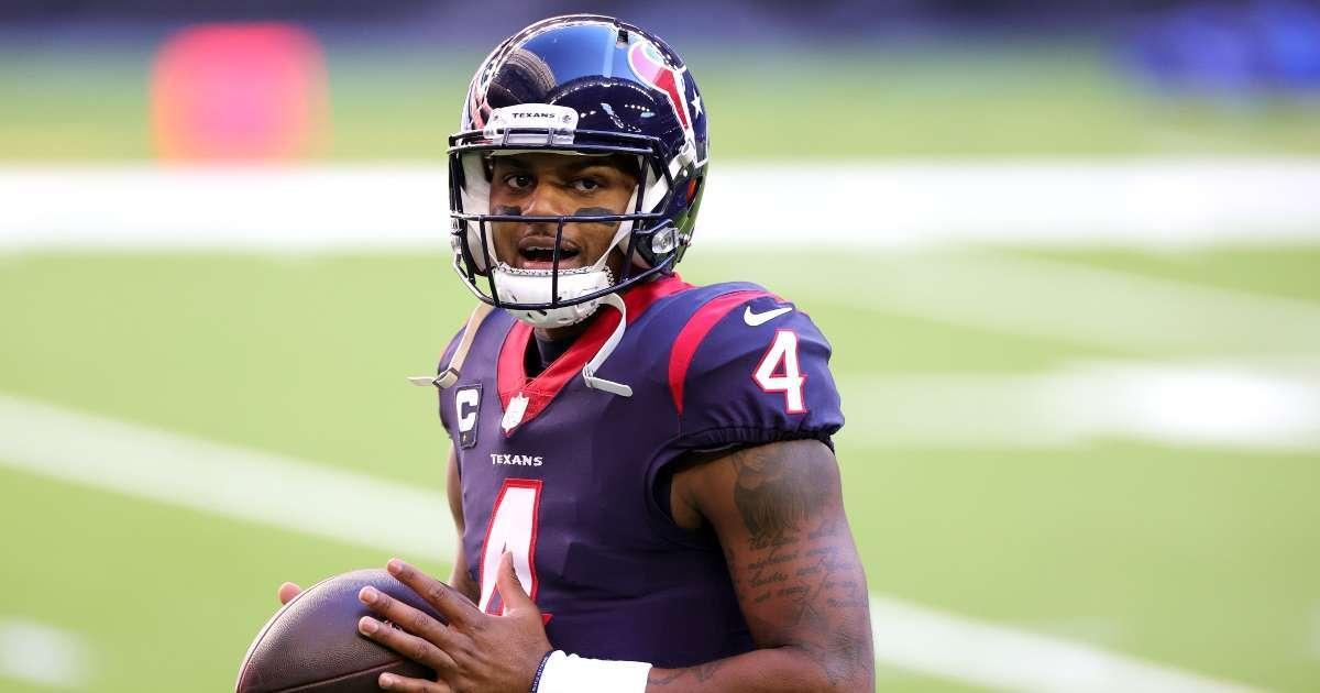 Deshaun Watson unhappy Texas NFL want trade