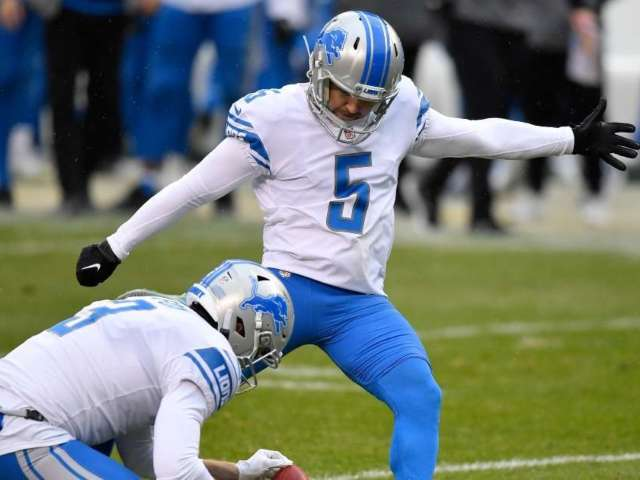 Detroit Lions' Matt Prater Kicks 59-Yard Field Goal to Earn City Free Beer
