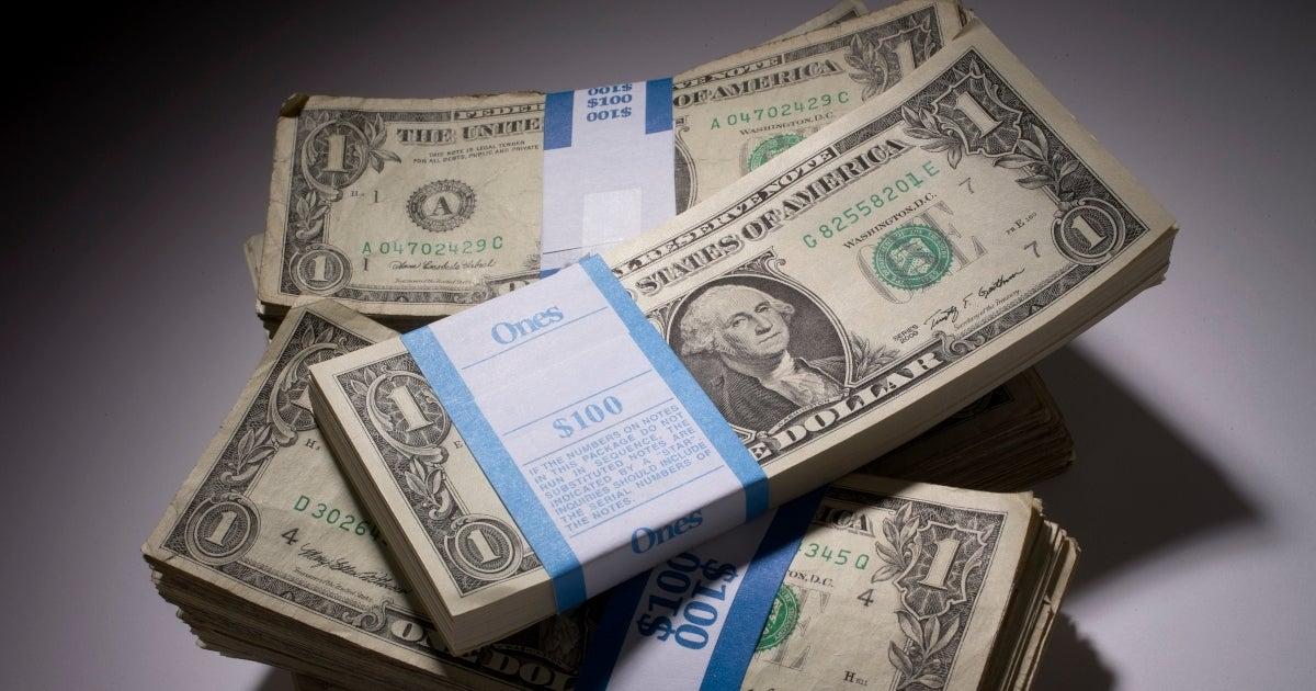 dollar bills getty images