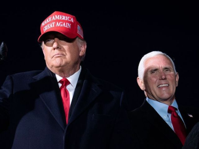 Donald Trump Slams Mike Pence for Not Refuting Electoral College Vote as Capitol Goes on Lockdown in Chaotic Scene