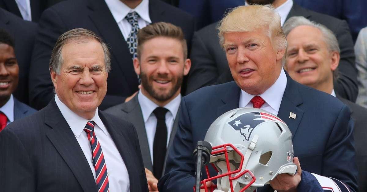 Donald Trump plans award Bill Belichick presidential medal of freedom