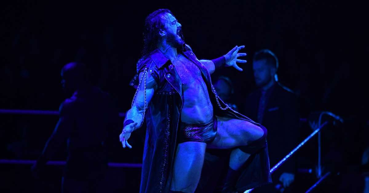 Drew McIntyre WWE Champion test positive for COVID-19