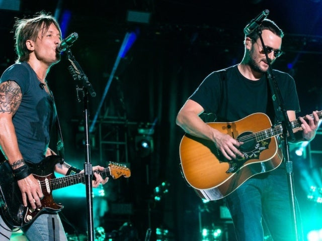 Keith Urban Gave Eric Church a Vintage Guitar for Christmas