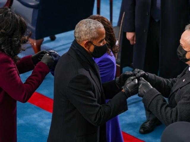 Kamala Harris and Michelle Obama's Inauguration Fist Bump Makes Waves