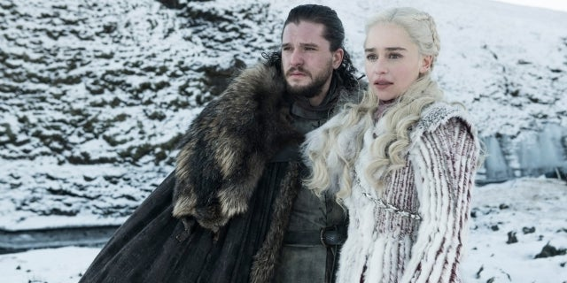game of thrones hbo jon snow danys